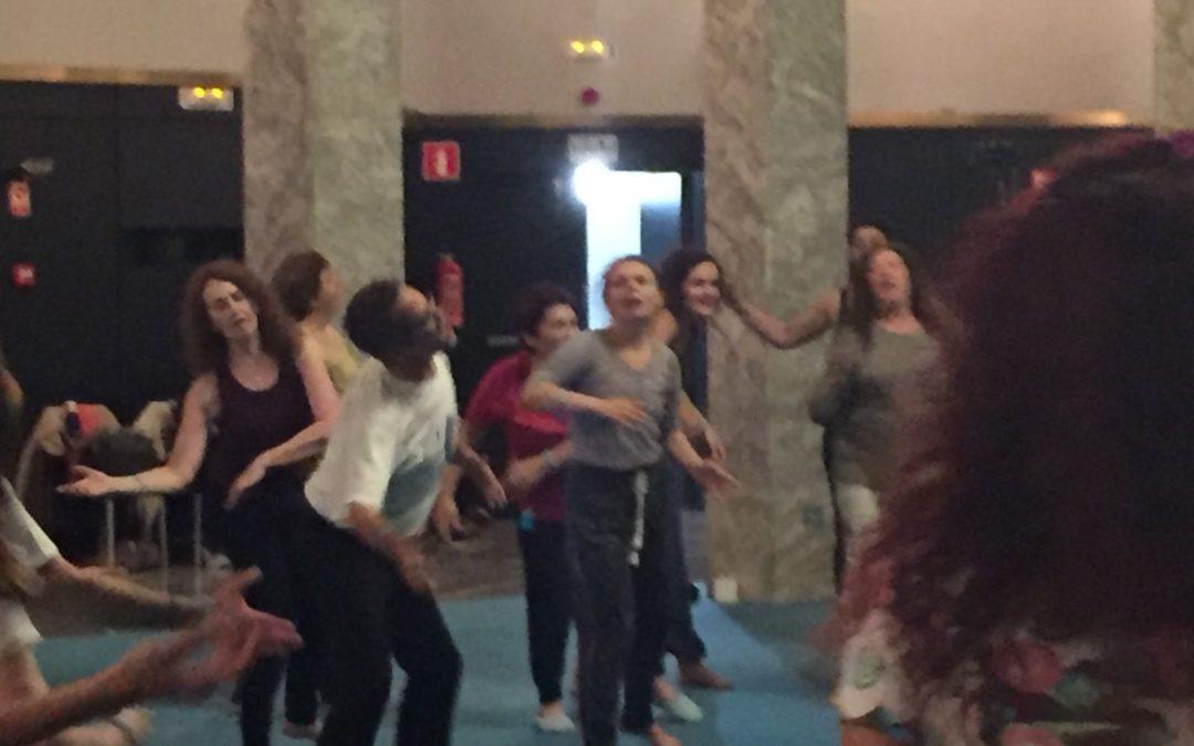 Comienzo de clases de Movimiento expresivo Rio Abierto en Estudio 3 en Octubre